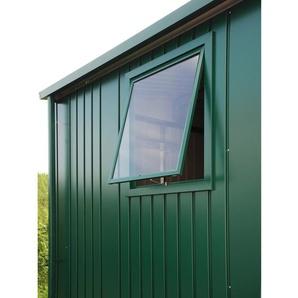 Biohort Fenster zu Gerätehaus Europa Quarzgrau-Metallic