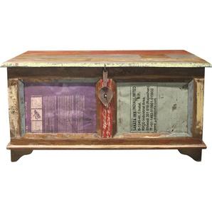 Home Affaire Truhentisch »Montreal«, mehrfarbig, Gestell aus Massiv-Holz, FSC®-zertifiziert