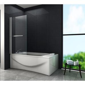 Duschtrennwand QUODO 80 x 140 (Badewanne) - GLASDEALS