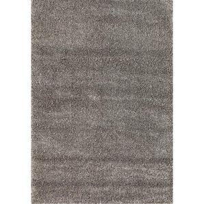Hochflorteppich LIFESTYLE Grau 135 x 200 cm
