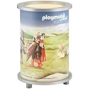 Playmobil Tischleuchte, 1-flammig, Playmobil `Knights´ ¦ blau ¦ Maße (cm): H: 25 Ø: 20