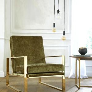 Sessel »Melnwai«, grün, zeitloses Design, , , Guido Maria Kretschmer Home&Living