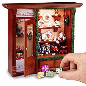 Reutter Porzellan-Beleuchtetes Wandbild Weihnachtsladen