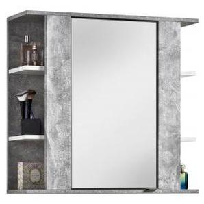 Spiegelschrank Trentino Beton-Optik/weiß