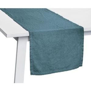 pichler Tischläufer LISKA 50 x 150 cm blau/grün