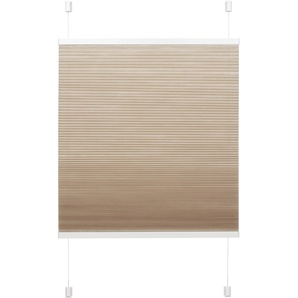 Gardinia EasyFix Wabenplissee beige 90 x 130 cm