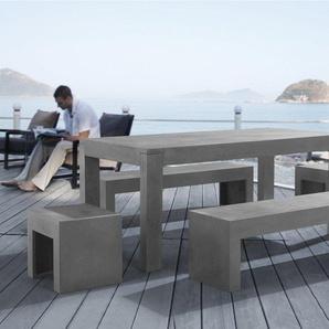 Gartenmöbel Set Beton 8-Sitzer TARANTO