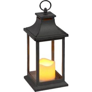 Home affaire Laterne, inkl. LED-Kerze, antikgrau