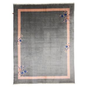 Orientteppich China 397x304 Handgeknüpfter Teppich