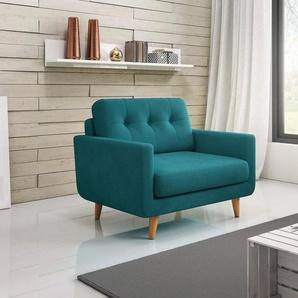 INOSIGN Big-Sessel Loveseat, grün, Luxus-Microfaser