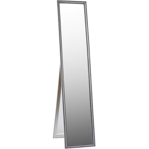 Carryhome: Spiegel, Eukalyptusholz, Silber, B/H/T 34 160 3.5