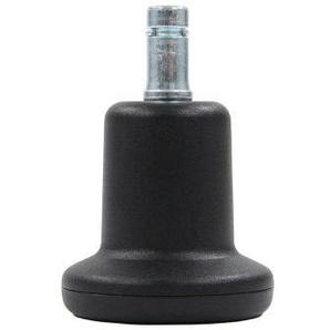 5x Stand 11mm/50mm Bodengleiter - Stuhlrollen