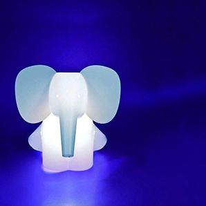 Elefant - Zzzoolight - Zoolight classic groß - Kinderzimmerleuchte Taglicht + Nachtlicht - Leuchtfarbe weiß - hell und dunkel (als Nachtlicht)