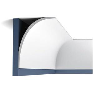 Eckleiste Orac Decor C890 XTERIO Fassadenleiste Fassadenstuck Zierleiste Zeitloses Klassisches Design weiß 2m