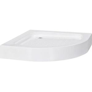 Duschwanne 80×80×13,5 cm Acryl Weiß - VIDAXL