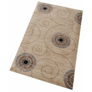 Teppich »Chiaro«, wash+dry by Kleen-Tex, rechteckig, Höhe 9 mm, In- und Outdoor geeignet