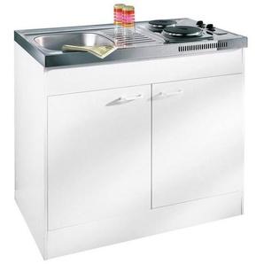 Pantry-Küche, mit Duo-Kochmulde