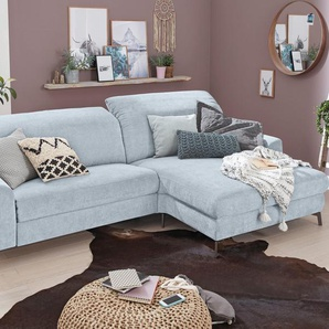 Set One By Musterring Funktionssofa »SO 5400«, Recamiere rechts, B/H/T: 282x47x57cm, 5 Jahre Hersteller-Garantie, hoher Sitzkomfort