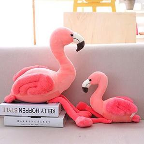 Ecent Flamingo Plüsch Plüschtier Flamingo Kissen Dekorative Stofftier Spielzeug Geschenk- 25/35/50cm