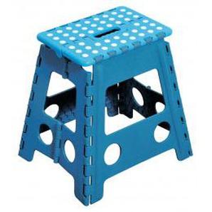 Klapphocker blau