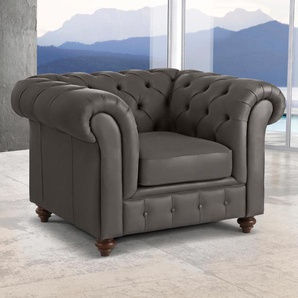 Premium Collection By Home Affaire Sessel »Chesterfield«, braun