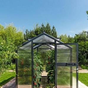 BECKMANN Gewächshaus »Allplanta U2«, BxT: 215x309 cm, anthrazit