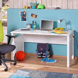 WIMEX Schreibtisch ,Weiß ,Kunststoff