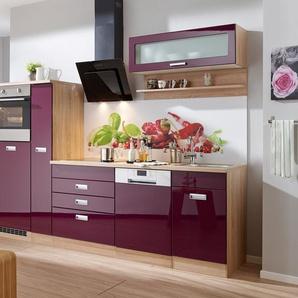 Küchenzeile ohne E-Geräte »Fulda, Breite 280 cm«