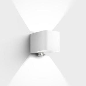 IP44.de Intro control LED Außenwandleuchte mit Bewegungsmelder, Rückläufer