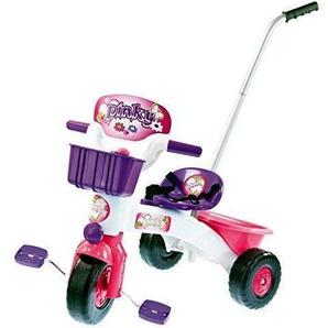 TikTakToo Dreirad mit Schubstange pink Weiss lila für Kinder ab 1 Jahr