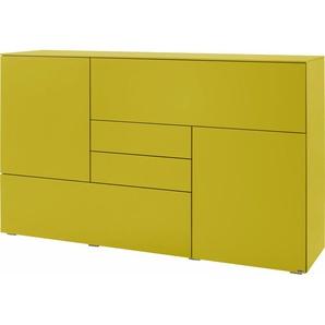 Gallery M Sideboard »Merano«, gelb, pflegeleichte Oberfläche