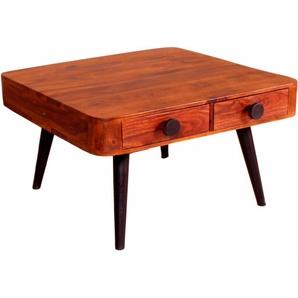 Sit-möbel Couchtisch »Knob«, beige, pflegeleichte Oberfläche, in Handarbeit gefertigt