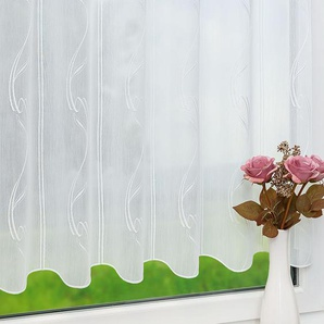 Scheibengardine von LYSEL® Lena (Bx H) 96cm * 50cm weiß