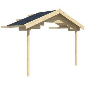 Skan Holz Vordach-Verlängerung für BBH Narvik