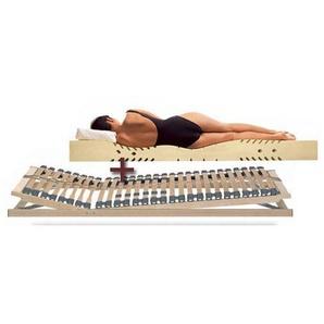 Set Matratze Lattenrost Lineavita Premium Allergie-Combi - 120x210 cm