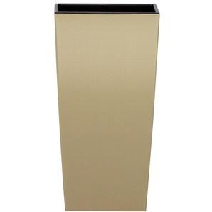PROSPERPLAST Blumentopf »Urbi square«, beige, B/T/H: 32,5/32,5/61 cm