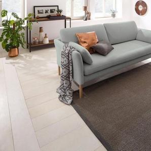 andas 3-Sitzer »Helsingborg«, in skandinavischem Design in 2 Bezugsqualitäten, grau, Baumwolle