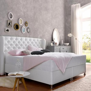hapo Komfortbett mit Bettkasten, weiß