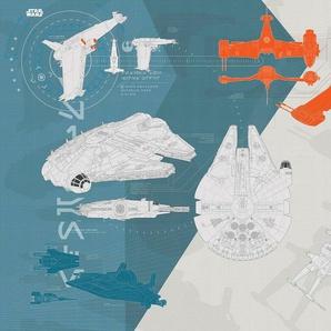Fototapete »Star Wars/Technical Pla«, Comic