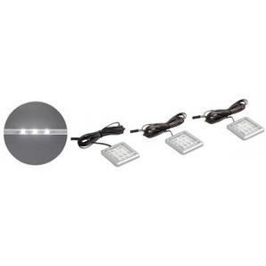 LED Unterbaustrahler 3er-Set, weiß