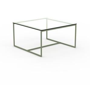 Beistelltisch Kristallglas klar - Eleganter Nachttisch: Hochwertige Materialien, einzigartiges Design - 81 x 45 x 81 cm, Komplett anpassbar