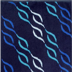 Badetuch »Wave Jacquard«, Dyckhoff, mit Wellenmuster
