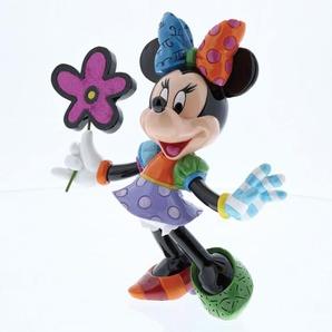 Disney by Romero BRITTO Deko Figur MINNIE MAUS mit Blume