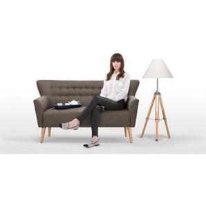Quentin 2-Sitzer Sofa, Grau