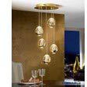 Schuller - Moderne Lampe - Rocio Gold 5L Dimmbar