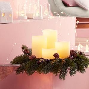 LED-Adventsgesteck