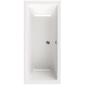 AquaSu Acryl-Badewanne oNno 170 cm x 75 cm Weiß