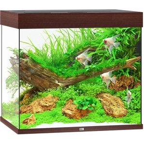 Juwel Aquarium-Set Lido LED dunkles Holz 200 l
