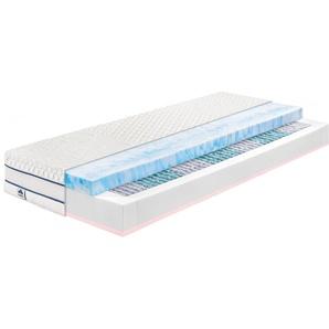 Irisette Taschenfederkernmatratze »Gel-active Comfort TFK«, 1x 90x200 cm, weiß, 81-100 kg