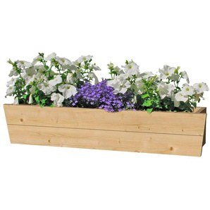 OUTDOOR LIFE PRODUCTS Blumenkasten , B: 130 cm, Fichtenholz
